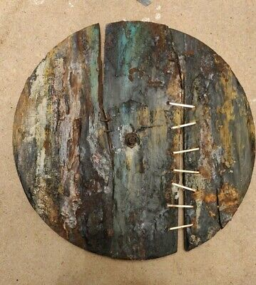 Nine inch nails inspired art. Goth Industrial Skinny Puppy Rustic Primitive Rare