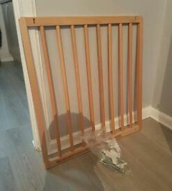 Wooden adjustable stair gate 3 available