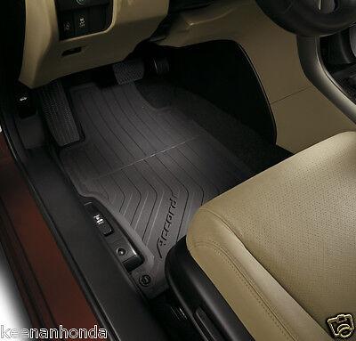 Genuine OEM Honda Accord 4DR Black All Season Floor Mat Set  2013   2017 Mats