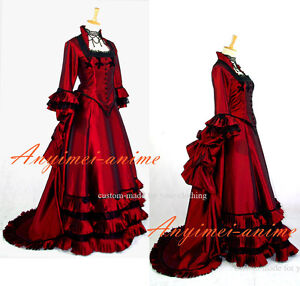 ROKOKO-Victorian-style-gown-costume-G621-Tailor-made