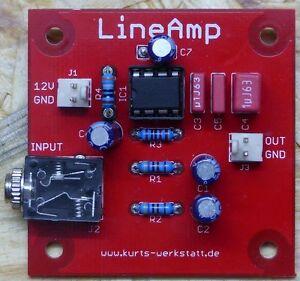 Audio-Verstärker Bausatz, Stereo zu Mono