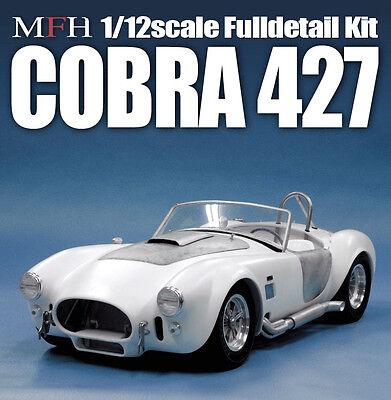 Shelby Cobra 427 1/12 Scale Model Factory HIRO Full Detail Kit K502