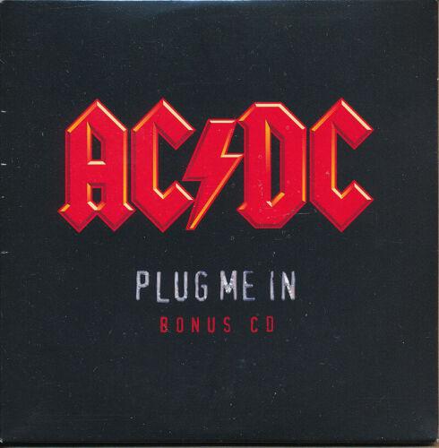 AC/DC Plug Me In RARE promo bonus CD