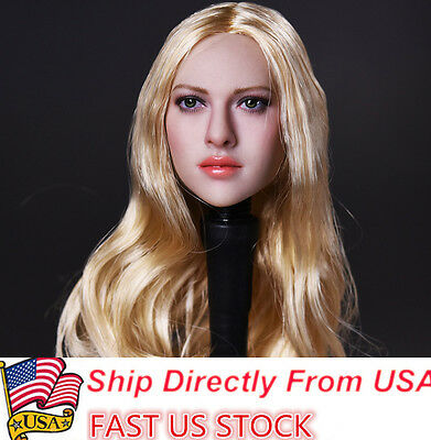 Kimi Toys 1 6 European American Female Headsculpt Kt004 Girl Head Usa Stock