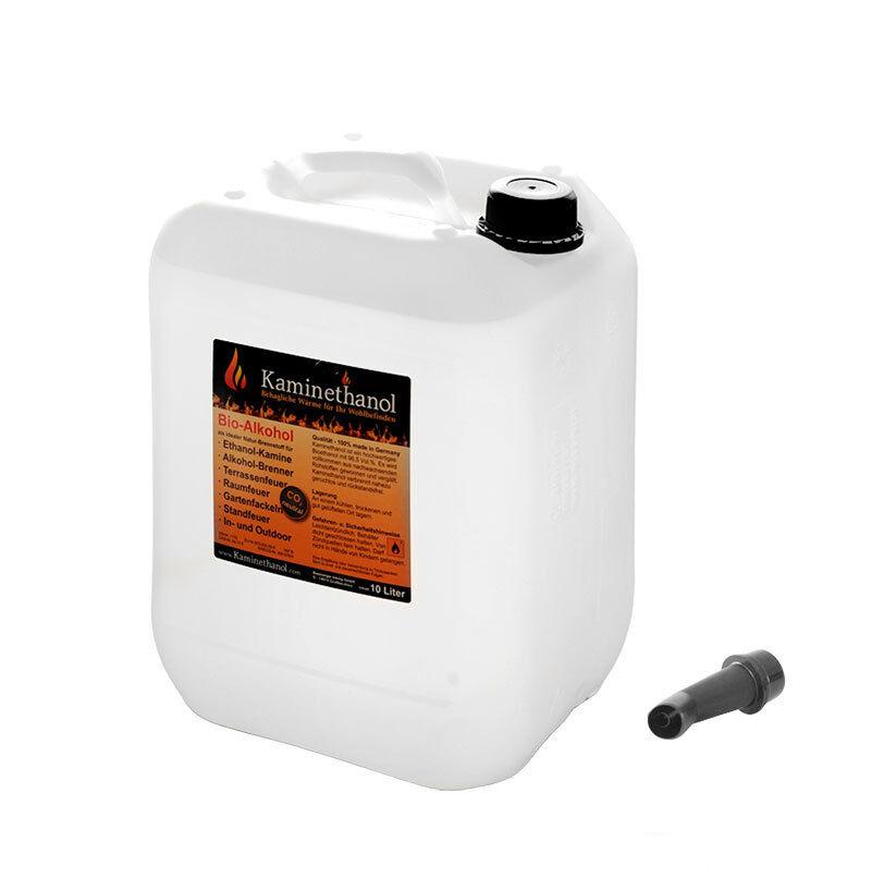 30 L Liter Bioethanol 96,6%, Bio Alkohol Kamin Ethanol