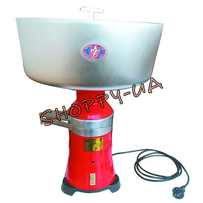 Milk Cream Electric Centrifugal Separator 100lh 15 Metalmetal 110v Usa Plug