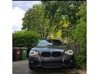 Bmw 1 series M sport (HIGH SPEC) - Xenon Lights, Angel Eyes, Red Leather, LED tail lights.