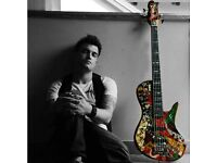 Professional bass player/session musician available for gigs/studio sessions in London