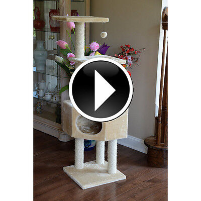 Cat Tree Tower Kitty Trees Condo Scratch Scratching Posts for Cats Furniture Toy