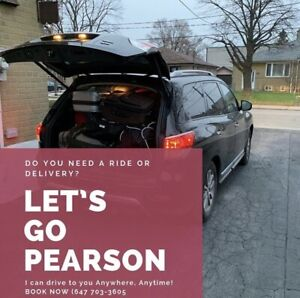 Personal Driver! Pick up and drop off service