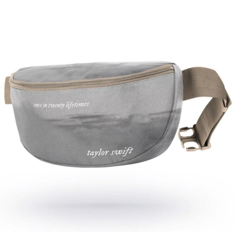 TAYLOR SWIFT - FOLKLORE - ONCE IN TWENTY LIFETIMES - HIP BAG SOLD OUT RARE