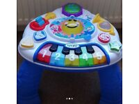 Child's Educational Activity Table - music, learn to count - languages