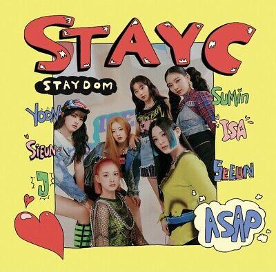 [STAYC - STAYDOM] 2nd single Album SEALED CD + Photocard + PhotoBook + etc ASAP
