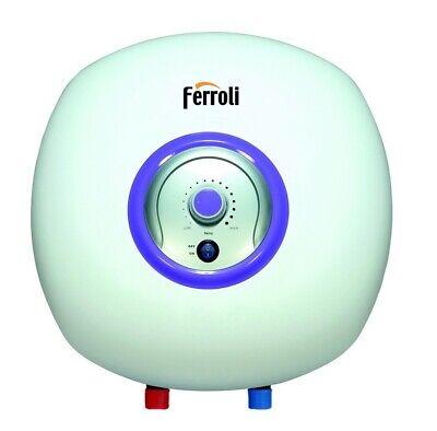 Ferroli Scaldabagno Elettrico 30 Litri ad Accumulo Sopralavello - GRB42WAA Bravo