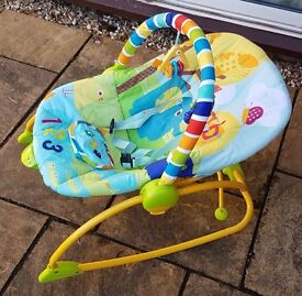 Bright Starts Baby Bouncer Chair - Vibrating