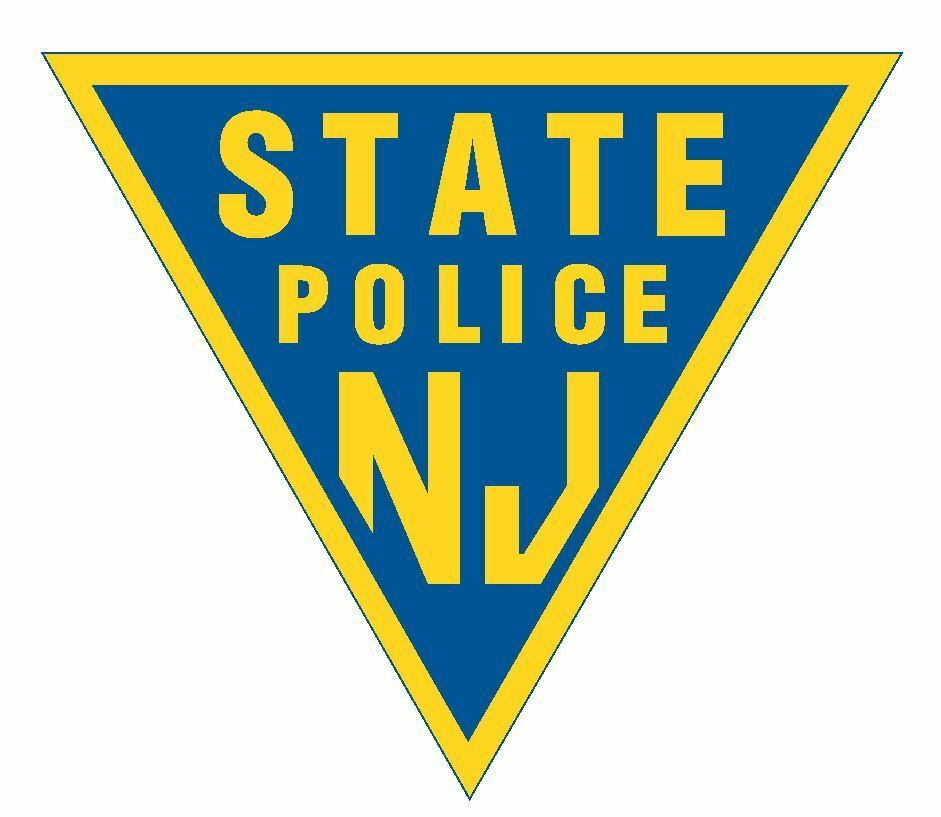 New Jersey State Police Sticker R1042