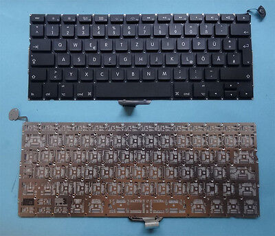 "Gebraucht, Tastatur Apple Macbook Pro Uibody A1278 13,3"" MB466 MB477 MB990 QWERTZ Keyboard gebraucht kaufen  Wuppertal"