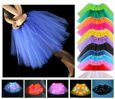 ock Tüllrock 3-5 Lagen Petticoat Ballettkleid Rock Fasching DA (Damen Petticoat)