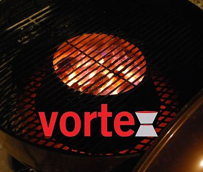 Medium BBQ Vortex BGE Kamado Kettle Charcoal Direct Indirect Cooking - GENUINE