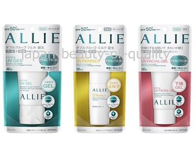 2018 New   Kanebo Allie Sunscreen Extra Uv Mini Size  Paraben Free   3 Types