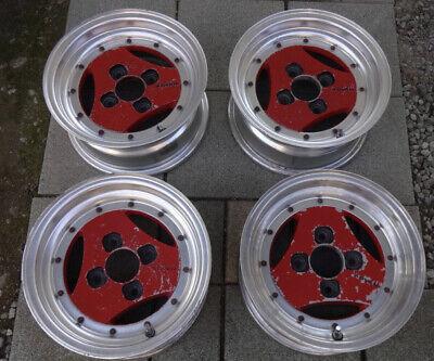 """Rare Advan A3A 13"""" 4x114.3 Alloy Wheels Toyota AE86 Corolla KP61 TE27 Silvia"""