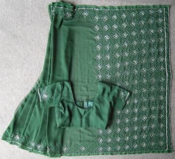 Sari / Saree / Indian Dress / Bollywood / Punjabi dress (#56)