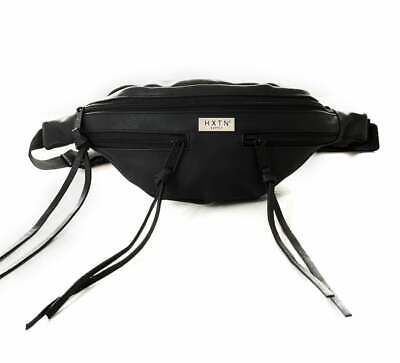 Hxtn Supply Explorer Black Tassels One Bum Bag Fanny Pack 41 x 9 x 8 cm New UK