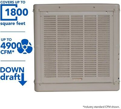 Champion Cooler 4001 Dd Down Draft Duct Evaporative Cooler,