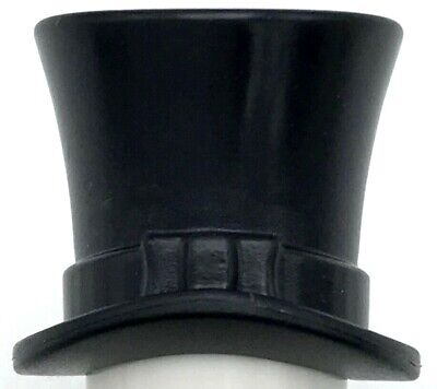 Lego Nuevo Negro Minifigura Tocados Sombreros Sombrero de Copa con Cinta Pieza