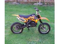 kdx cobra 50cc pit bike/mini moto /quad. very good condition £ 200 or cash offers.