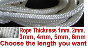 Nylon Braided Cord Rope Utility Rope Utility Rope Nylon Purlon Para cord Parcord