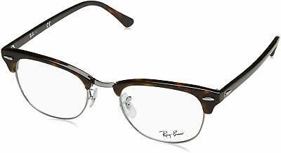 Ray Ban Clubmaster Eyeglasses RX5154 2012 51mm Dark Havana/Demo Lens (Ray-ban Rx5154 Clubmaster Eyeglasses)