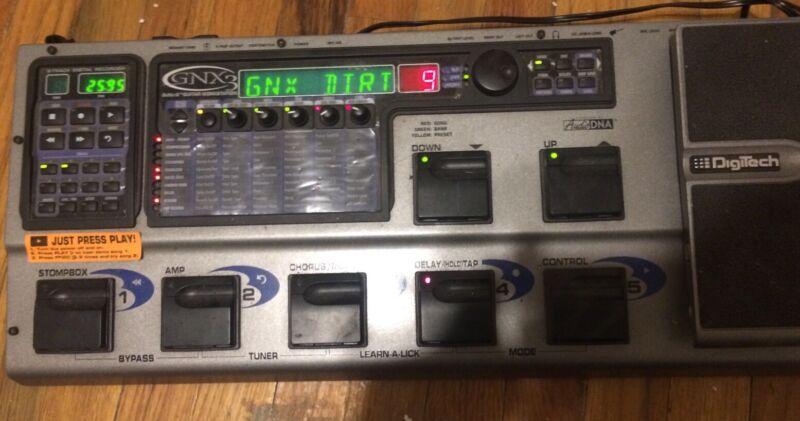DigiTech GNX3 GeNetX Guitar Workstation Multi-Effects Guitar Pedal