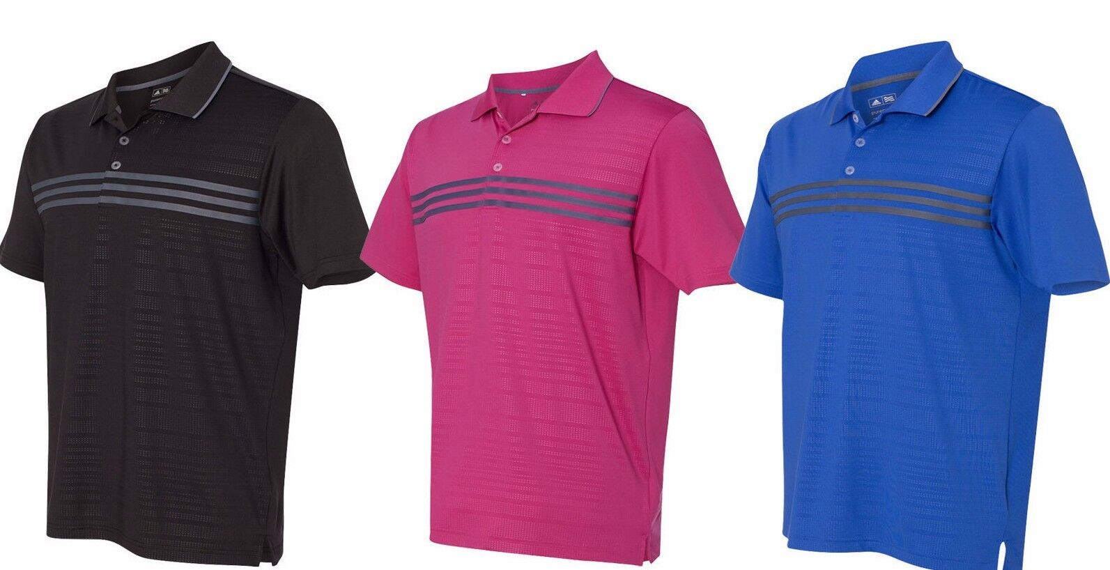 fcdcf480c2ec5 Details about ADIDAS GOLF - Puremotion Polo, Mens S-3XL, Three Stripes  Climalite Sport Shirt