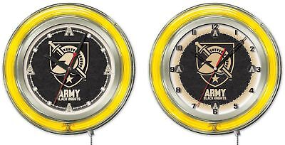 NCAA - US Military Academy (ARMY) Double Neon Ring, Logo Clock College Team (Us Army Neon Clock)