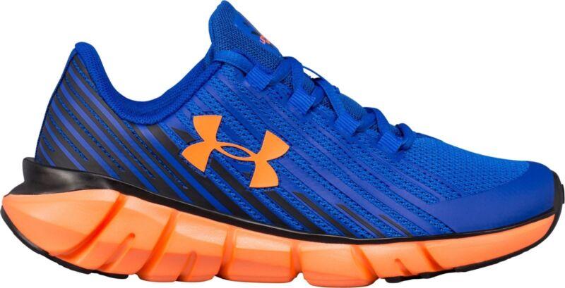 2334a3227c Kid's Under Armour BGS Xlevel Scramjet Remix Running Shoes - Blue ...