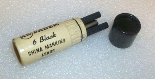 Vintage A. W. FABER  525 Black Marking Leads Original Tube