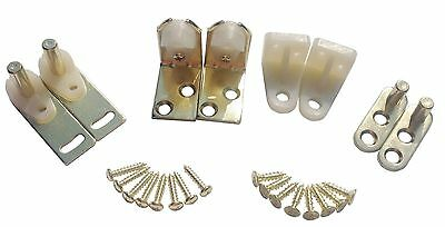 New Hardware Hinges Set For Saloon Bar Pub Cafe Swinging Doors, Brass Finish - Saloon Door