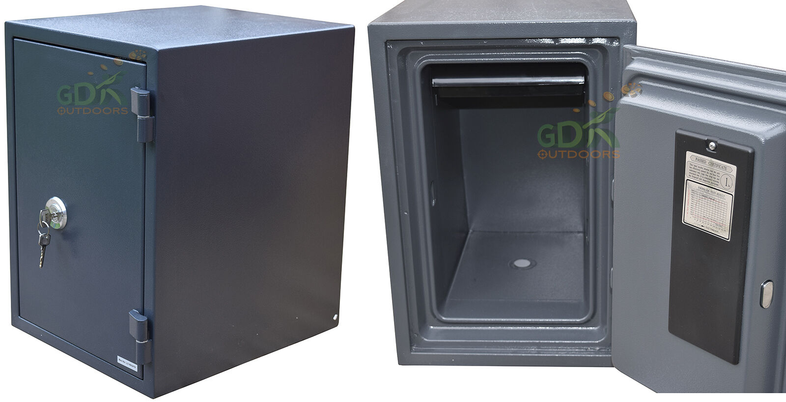 GDK LARGE FIREPROOF SECURITY SAFE, 1 HOUR FIREPROOF, HOME,OFFICE ...