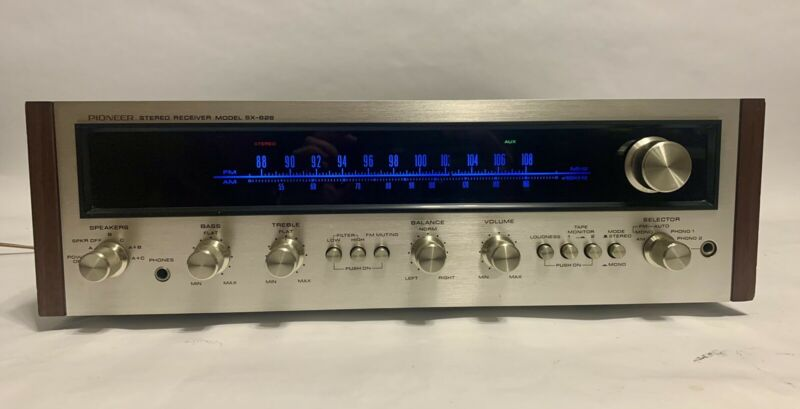 Pioneer SX 626 Stereo Receiver