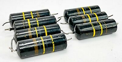 Sprague 0.1 Uf 400 Volt Bumblebee Paper In Oil Capacitors From Mcintosh Gear