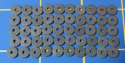 """50 ¼"""" Hardboard Discs to Make Five Jointed Teddy Bears -25 Cotter Pins"""