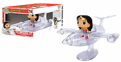 Wonder Woman & The Invisible Jet - Vinyl Figuren Set - Funko Pop! Rides ()