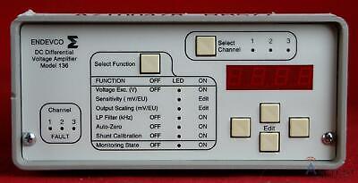 Endevco 136 Dc Differential Voltage Amplifier