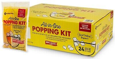Members Mark Popcorn Kit With Coconut Oil 10.6 Oz. 24 Pk.