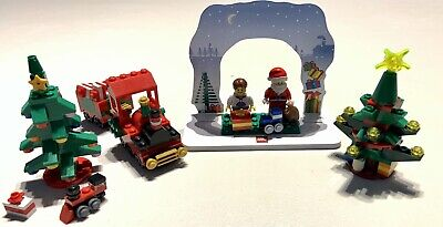 Nice Lot of LEGO Christmas Holiday Sets 30286 40034 30186 850939 FREE SHIPPING