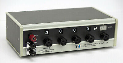 Hp Keysight 4440b Decade Capacitor 40pf-1.2mfd