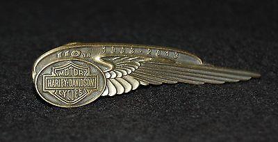 Harley-Davidson Ansteck-Pin 110th Anniversary Edition Pin -110 Jahre NEU !