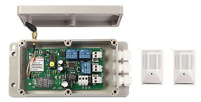 GSM AUTO DIALER PLUS PIR SENSORS - UK MADE SECURITY DEVICE