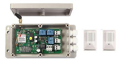 GSM AUTO DIALER PLUS PIR SENSORS -  UK MADE SECURITY DEVICE ()